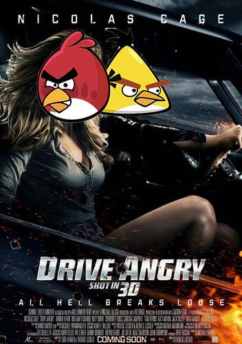 drive angry birds