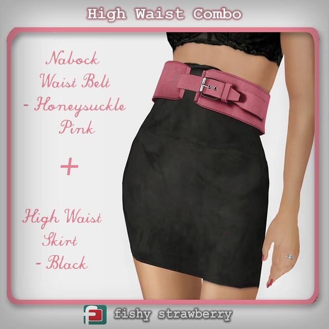 High Waist combo - TDR
