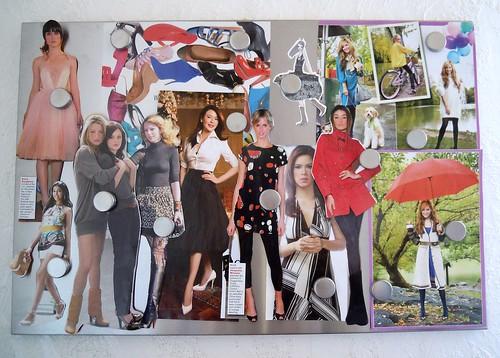 fashion pin board
