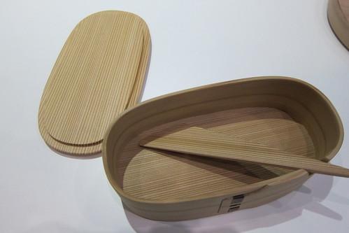東北復興支援 木製のお弁当箱