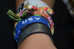 (jennladerman) Tags: summer girl silver string bracelets wrist usy hairties jacvanek