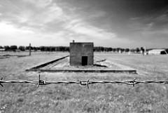 Auschwitz Birkenau II, Pologne (D*C) Tags: world voyage trip viaje deleteme5 camp deleteme8 white black deleteme deleteme2 deleteme3 deleteme4 deleteme6 deleteme9 deleteme7 de concentration war noir saveme deleteme10 nazi krakow rail ii jew guerre blanc birkenau cracovie shoah horreur juif mondiale auschwitch