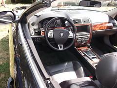 2007 Jaguar XKR (cjp02) Tags: show classic car vintage indiana days british motor zionsville fujipix av200 cjp02 2007jaguarxkrindy