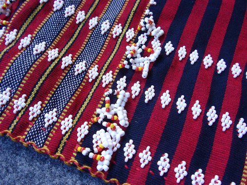 Philippines: Gaddang  textile beading