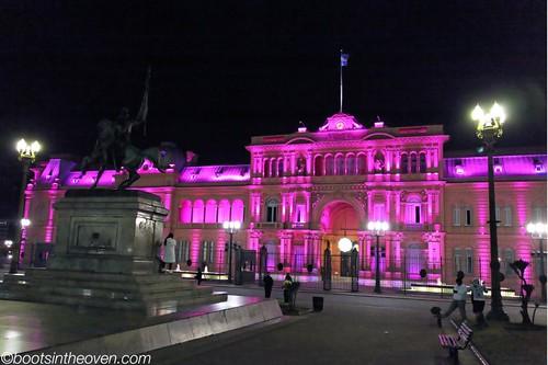 Casa Roja by night