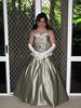 Gowned (Christine Fantasy) Tags: evening makeup christine gloves transvestite gown elegant satin crossdresser petticoat transsexual shemale girdle