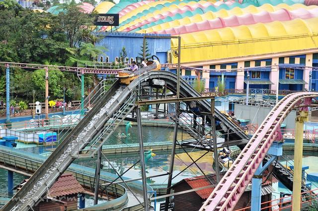 Sungai Rejang Flume Ride