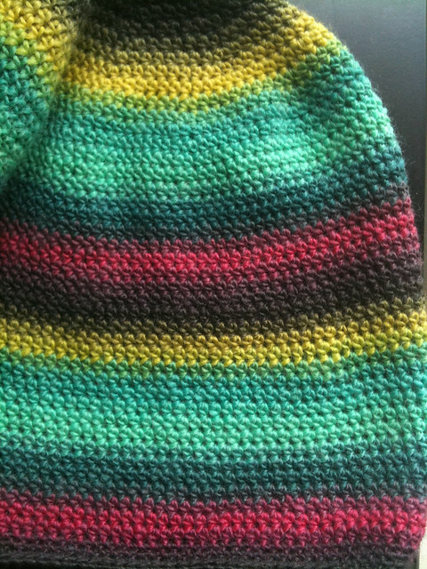 Slightly Slouchy Hat (Chroma Fingering)