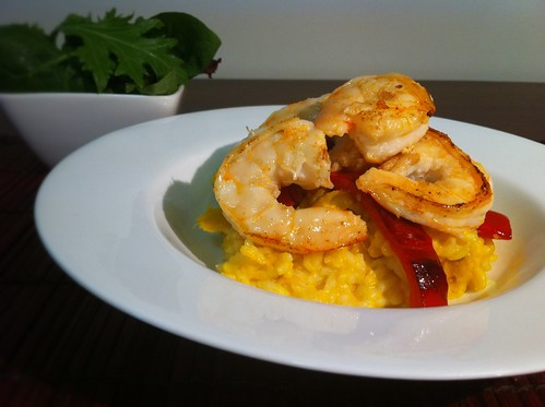 Prawns on Grilled Capsicum by mjd-s