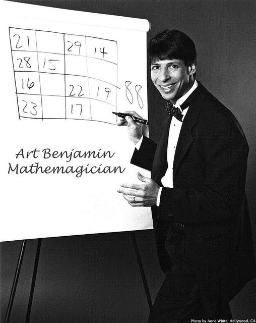 Arthur Benjamin y su matemagia