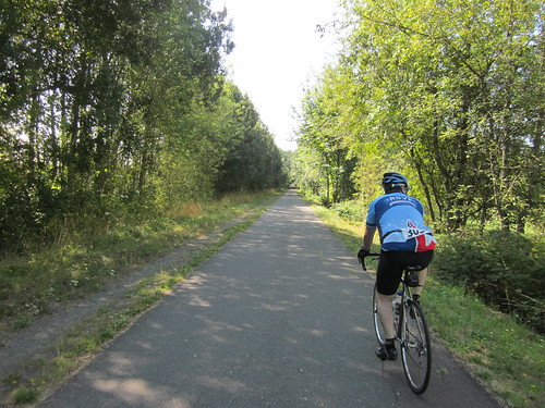 Ross on the Chehalis-Western Trail