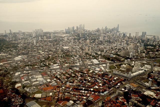 Panamá desde las alturas