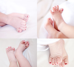 (Ebtesam.) Tags: baby girl 35mm happy photography photo kid day nail leg eid newborn saudi arabia jeddah eidmubarak happyeid ebtesam