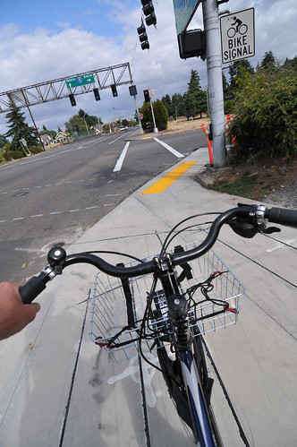 New bike lanes on N Rosa Parks Way-21