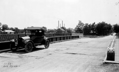 Chicago St Bridge looking south (8-29-1924) (Norman Rexford) Tags: historic bo westernave stonycreek calumet stbenedict dixiehighway mwrd blueisland rockislandrailroad calsag littlecalumet saganashkee fayspoint