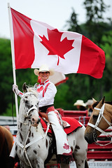 _ACT9289.jpg (Delscott) Tags: horse ontario canada nikon cowboy erin bull rodeo cowgirl calf 70200mmf28 d700 erinrodeo