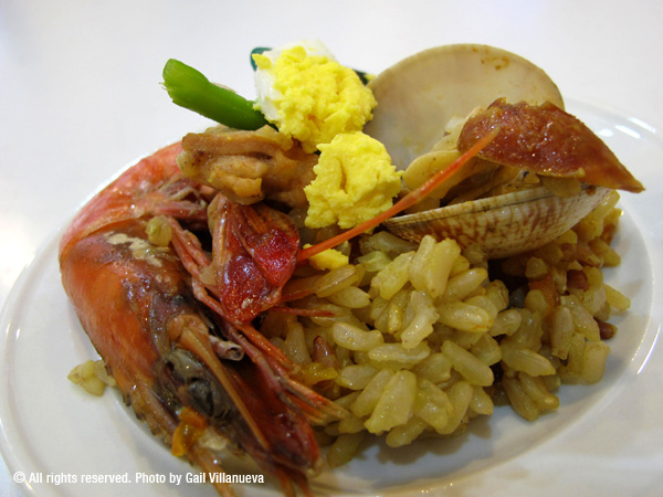 Seafood Brown Rice Paella