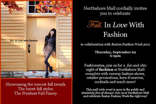 Fall in love with fashion invite picture