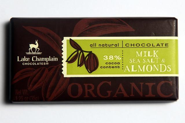 Lake Champlain Chocolates - Milk, Sea Salt & Almonds