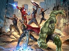 110902(1) - 2012年科幻電影《The Avengers 復仇者聯盟》即將殺青,官方特地公開4幅最新宣傳插圖! (4/4)