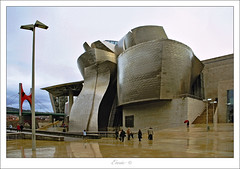 Guggenheim -  Bilbao (Enric.) Tags: canon bilbao guggenheim museo paisvasco abandoibarra 1000d