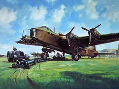 Short Stirling art (kitchener.lord) Tags: uk art aircraft aviation wwii short bomber