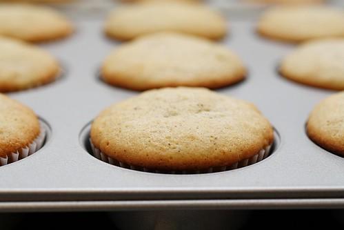 baked banana cupcakes