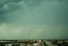 Cheyenne Rain (inafreeland) Tags: usa rain clouds roadtrip hills wyoming cheyenne