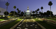 Oakland California Temple (ProudPinoy) Tags: longexposure canon river lens oakland nikon baseball sony religion wideangle manila bayarea bluehour thebay noypi pinoy tagalog raiders mormontemple goldenstate dlsr raders peterlik as treyratcliff oaklandcaliforniamormontemple jasonsalgadophotography