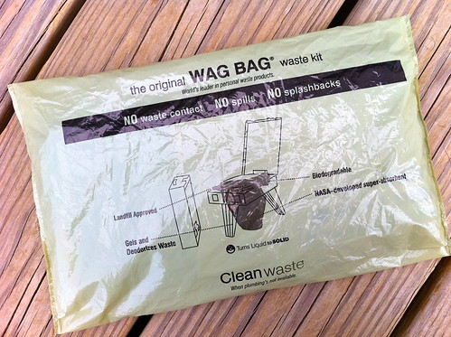 Waste Alleviation and Gelling (WAG) Bag