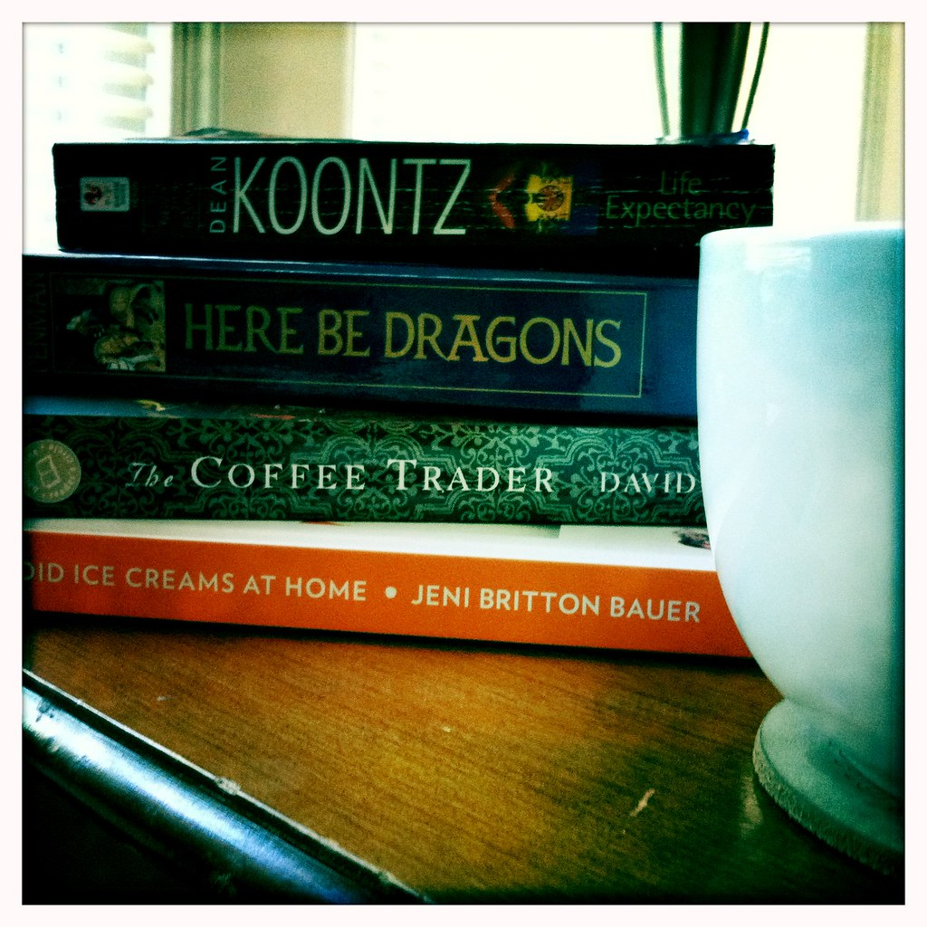 Book stack 9/4/11