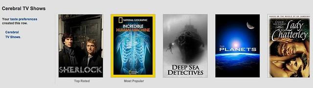 Cerebral TV Shows