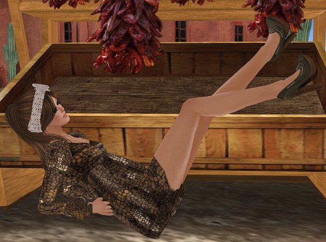 CHANTKARE KERRY DRESS + Angel Hair + ISON - topside pump (moss) - The Fashion Garret