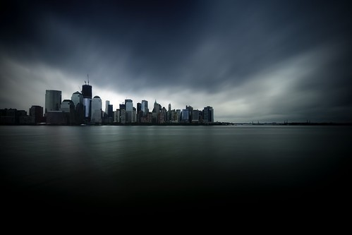 New York City, Hurricane Irene 2011 by mudpig