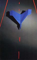 """Origami création - Didier Boursin - Avion """"décollage immédiat"""""""