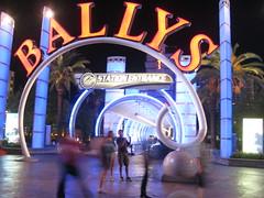 Ballys Monorail Entrance