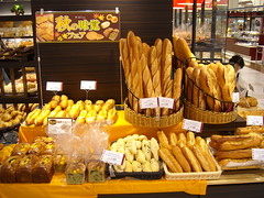 Bread shop in Tokyo (Seb Ian) Tags: j