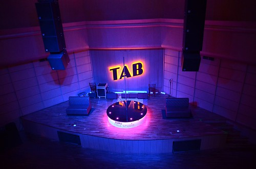 TAB has a Beautiful Stage area.