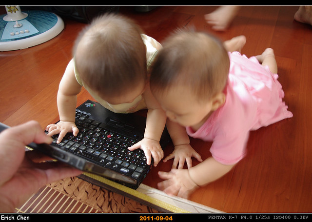 Youngest fans of Thinkpad