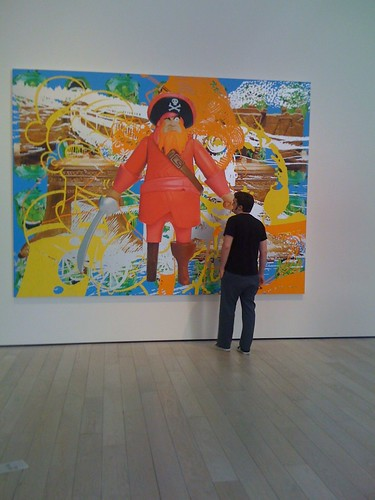 Jeff Koons paintings