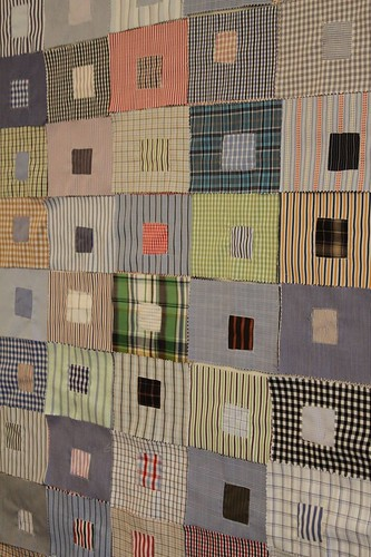 Recycled Fabric Quilt Squares