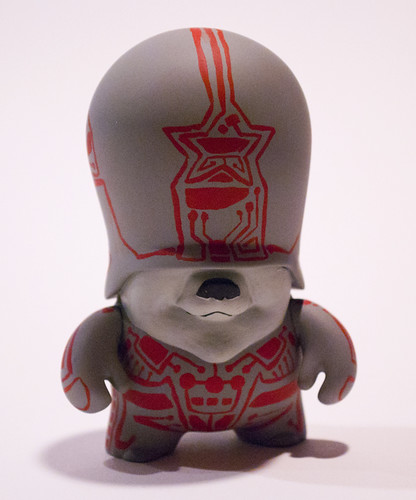 Tron Teddy Troops by Manly Art