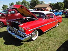 58 Chevrolet Impala (DVS1mn) Tags: show county cars chevrolet car minnesota gm bowtie chevy 1958 annual mn eight 3rd trolls nineteen fifty 58 generalmotors chevies kandiyohi sunburg nineteenfiftyeight