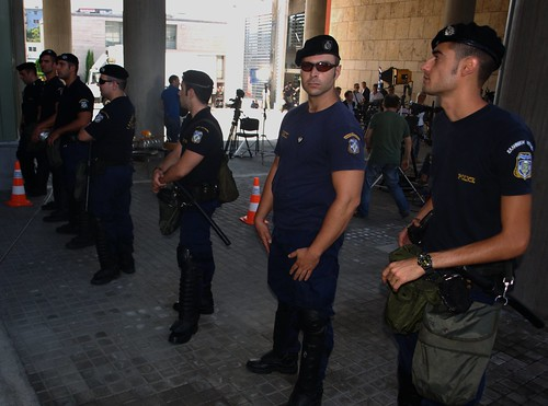 Hundreds of police drafted to protect Greek PM during visit to Thessaloniki town hall