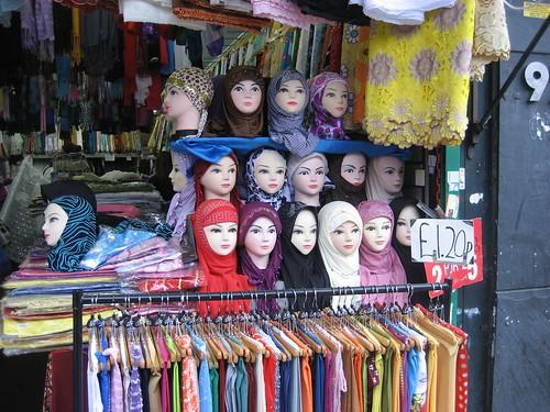 Headscarf mannequins