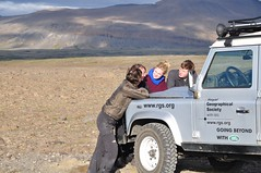 Go Beyond: Glacier in a Greenhouse (Land Rover Our Planet) Tags: iceland glacier landroverdefender110 gobeyond landroverourplanet researchexpedition glacierinagreenhouse