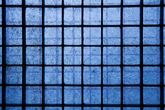 251/365 (Tom Wachtel) Tags: blue shadow black texture metal bar square grid uniform iron pattern cross line 365 parallel regular criss top20blue