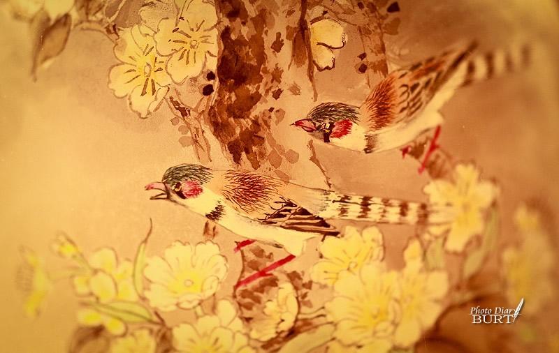 鼻煙壺  春暖花開  雙宿雙飛