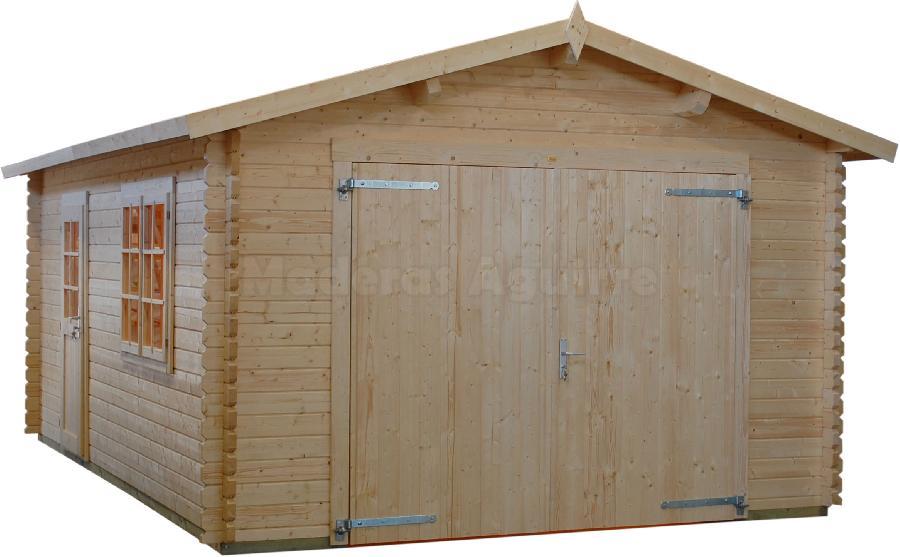Maderas aguirre jardineria casetas de madera caseta de jardin garaje c - Maderas aguirre ...