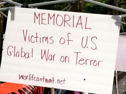 memorial on 9/11/11 - City Hall, New York City